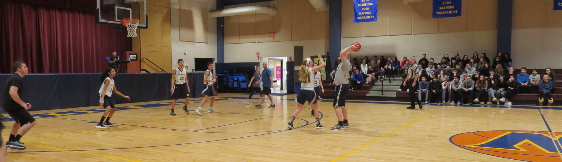 Student - Faculty basketball game