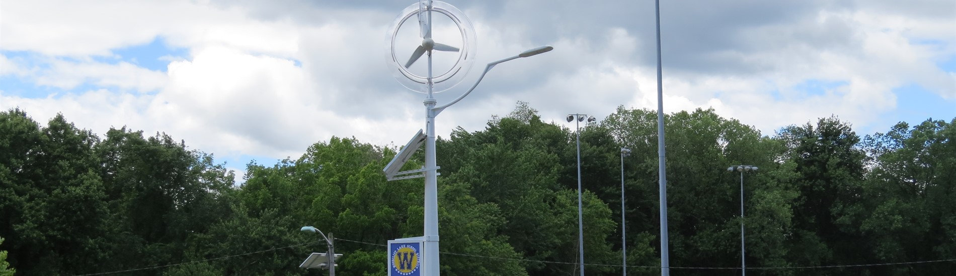 Our new wind turbine