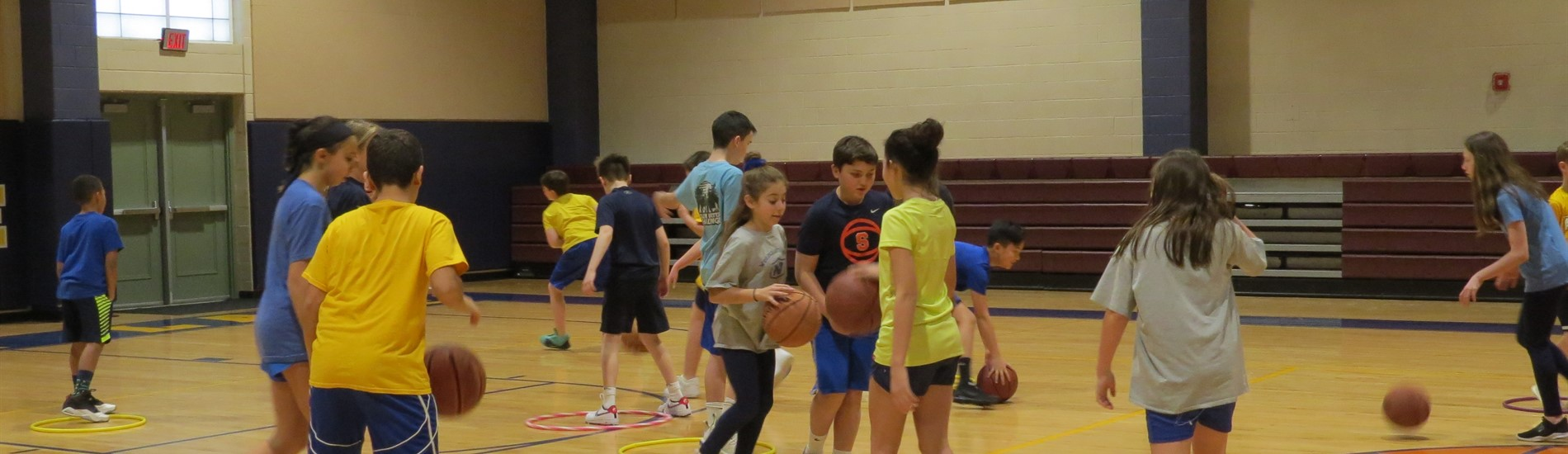 6th grade physical education class