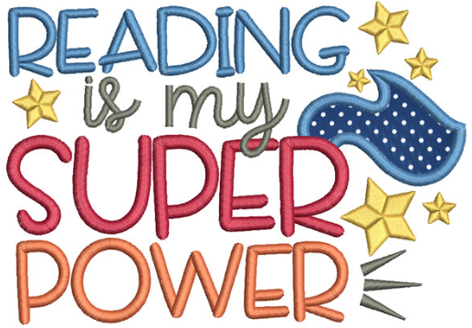 reading is my super power